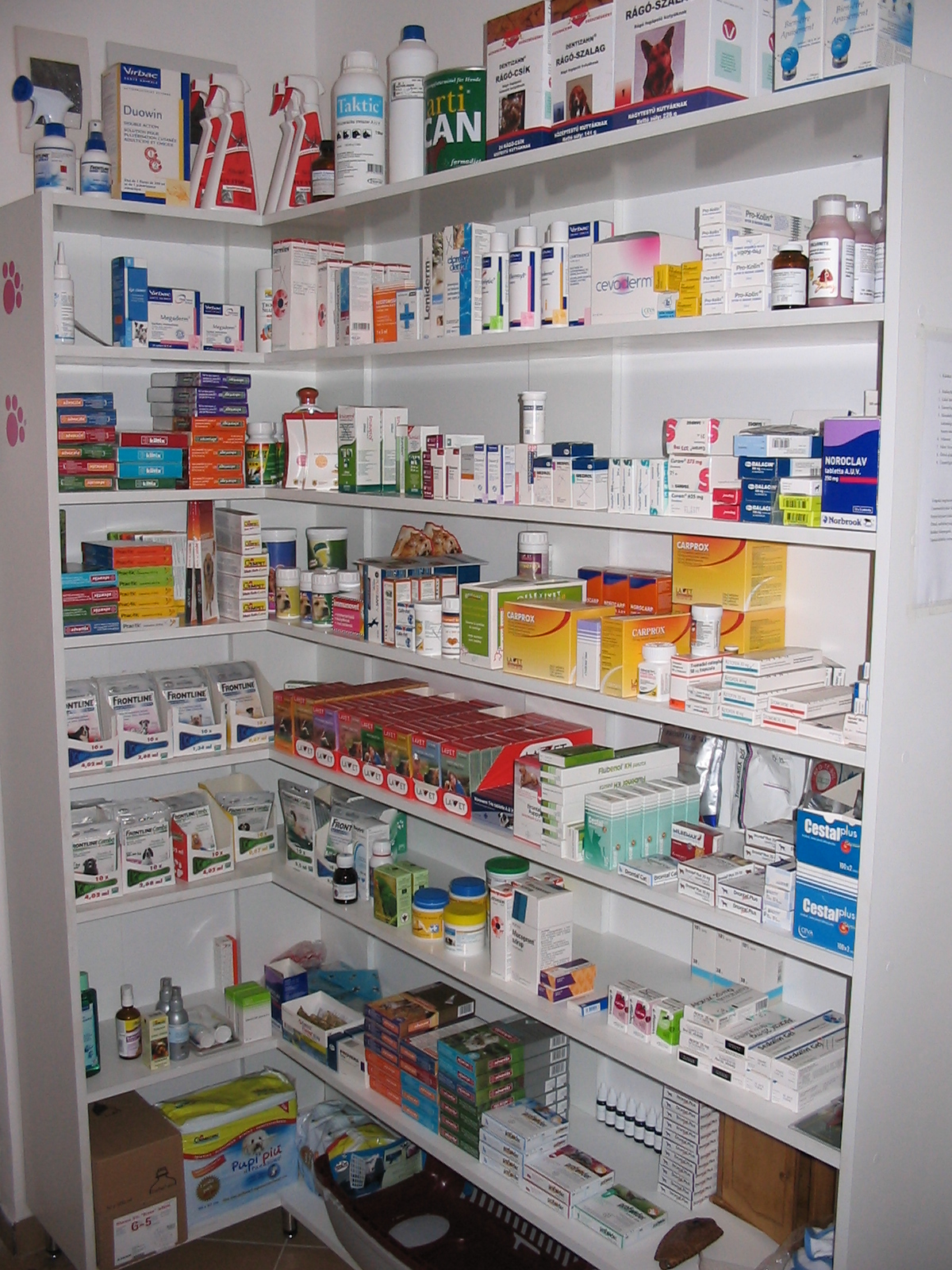 Kézigyógyszertár